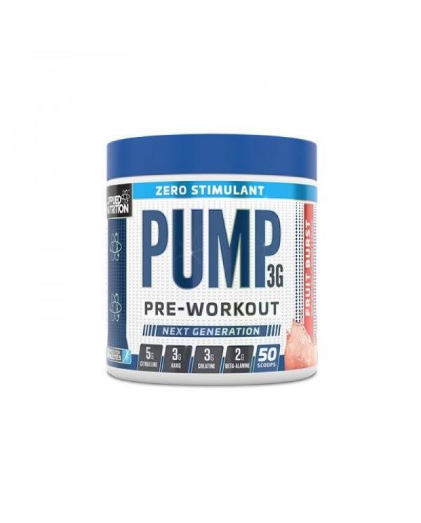 Applied Nutrition - Pump  Stim Free Pre Workout 375g