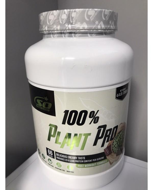So Nutrition - 100% Plant  Pro 2kg - 66 servings