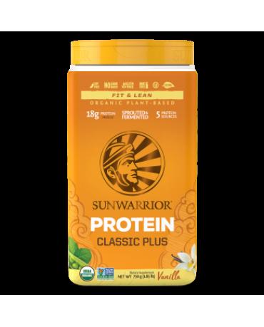 Sunwarrior - Classic Plus Organic Vegan Plant Protein 750g