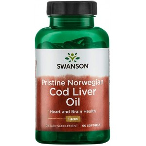 Swanson - Pristine Norwegian Cod Liver Oil * 60softgel