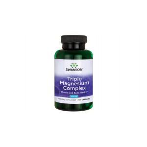 Swanson - Triple magnesium complex 400mg * 100caps