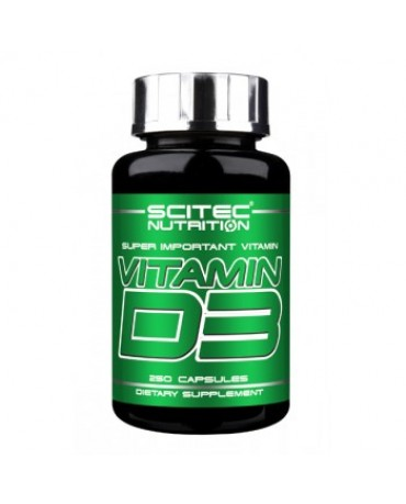 Scitec Nutrition - Vitamin D3 (250 caps)